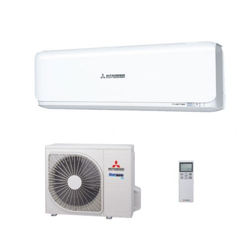Mitsubishi Heavy Industries Air Conditioning SRK50ZSX-R32 Wall Heat Pump Install Pack